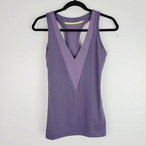 Adidas by Stella McCartney Purple Athletic Tank